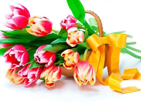 Дорогие  женщины, поздравляем с 8 марта!