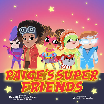 Book - Paige's Super Friends