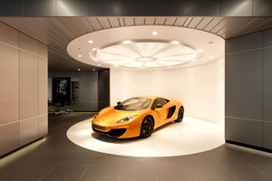 Showroom McLaren