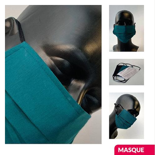 """10X Masques """"classic"""" (3 couches) lavables à 60°"""