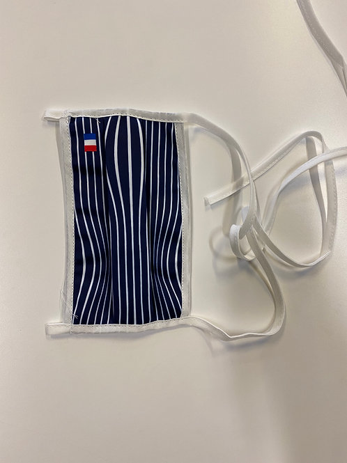3x Masques imprimés ajustables et lavables