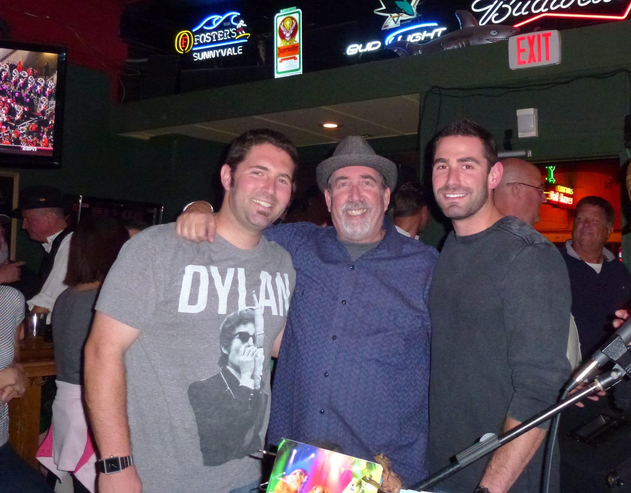 Fenny w sons Brad & Bryan