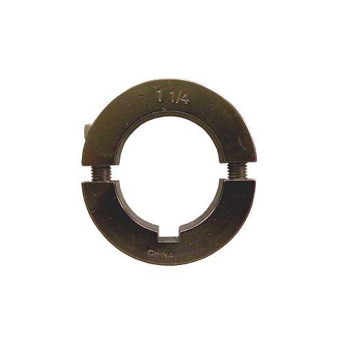 """1 1/4"""" Aluminum Axle Lock Collar (Black)"""