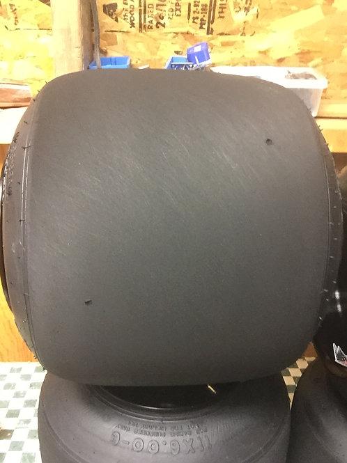 Tire refinishing set