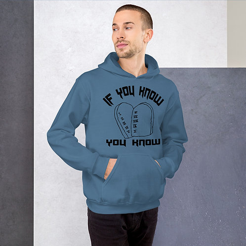 If you know you know 10 commandments Unisex Hoodie