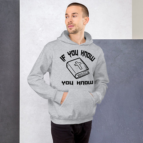 If you know you know Bible Unisex Hoodie