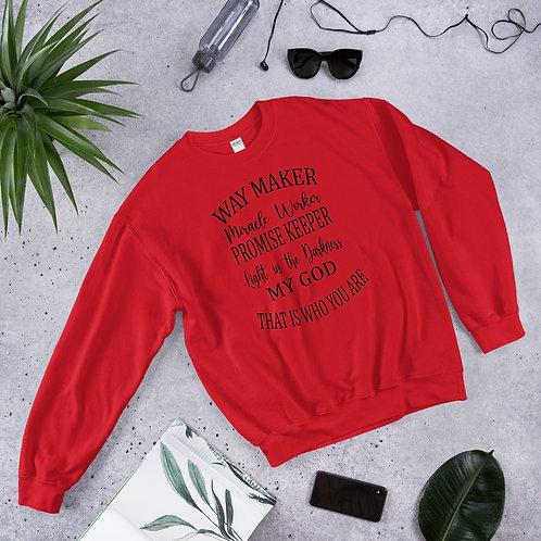 Way Maker Unisex Sweatshirt