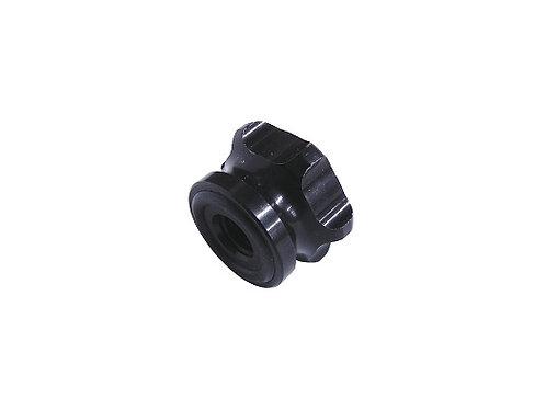 P.M.I. Tach Nut (Black Anodized Aluminum)