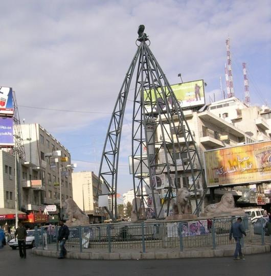 Manara Square, Downtown Ramallah