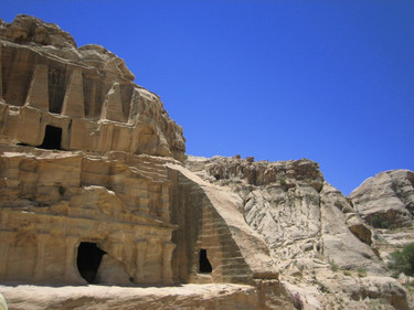 Burial Caves in Petra