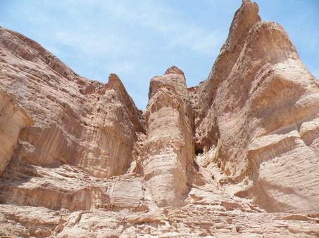 Solomon's Pillars in Eilat
