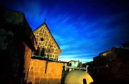 Twilight at St. Catherine's Monastery
