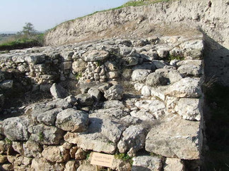 Canaanite Fort, Tel Gezer