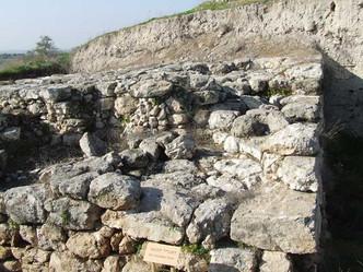 Canaanite Fort, Tel Gezer