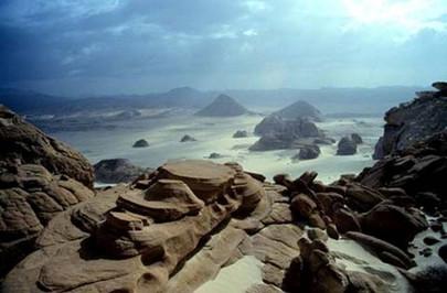 Dawn View from Mt. Sinai