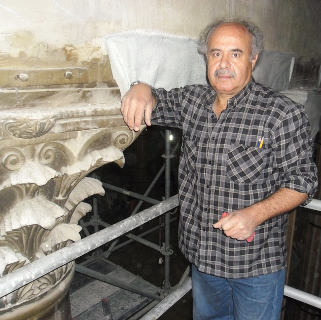Akram and copy of Byzantine capital  for