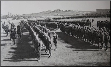 OIttoman troops in Jerusalem