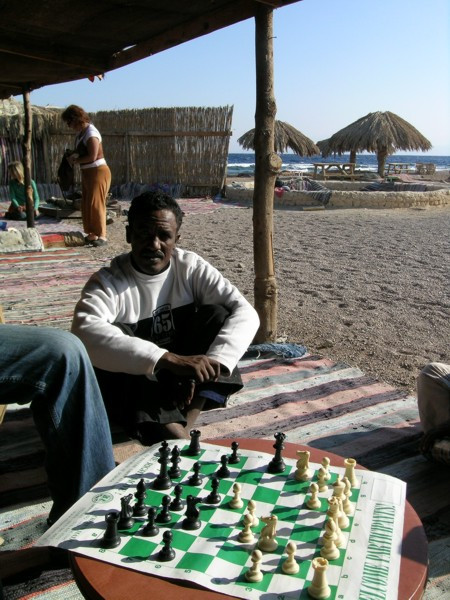 Playing Chess in Sinai