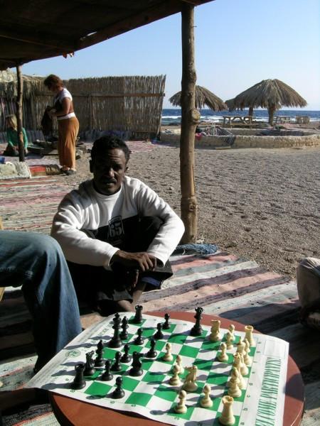 Playing Chess in Sinai