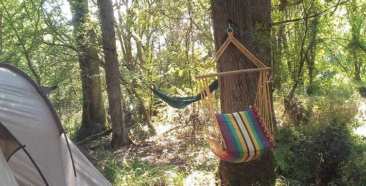 Camping, hamac...