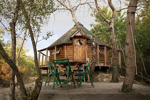 Cabane de l'île au Canet
