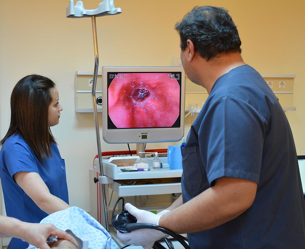 Gastroskopiden bir görüntü