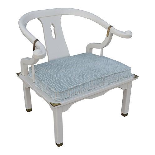 20th Century Chinoiserie Yoke Chair