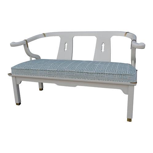 20th Century Chinoiserie Century Furniture Settee
