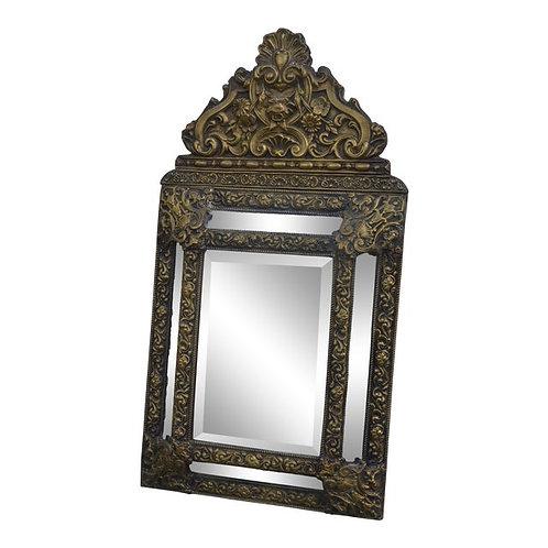 Late 19th Century Antique Dutch Cushion Mirror