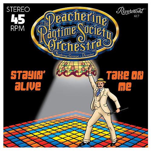 Stayin' Alive / Take On Me Vinyl 45