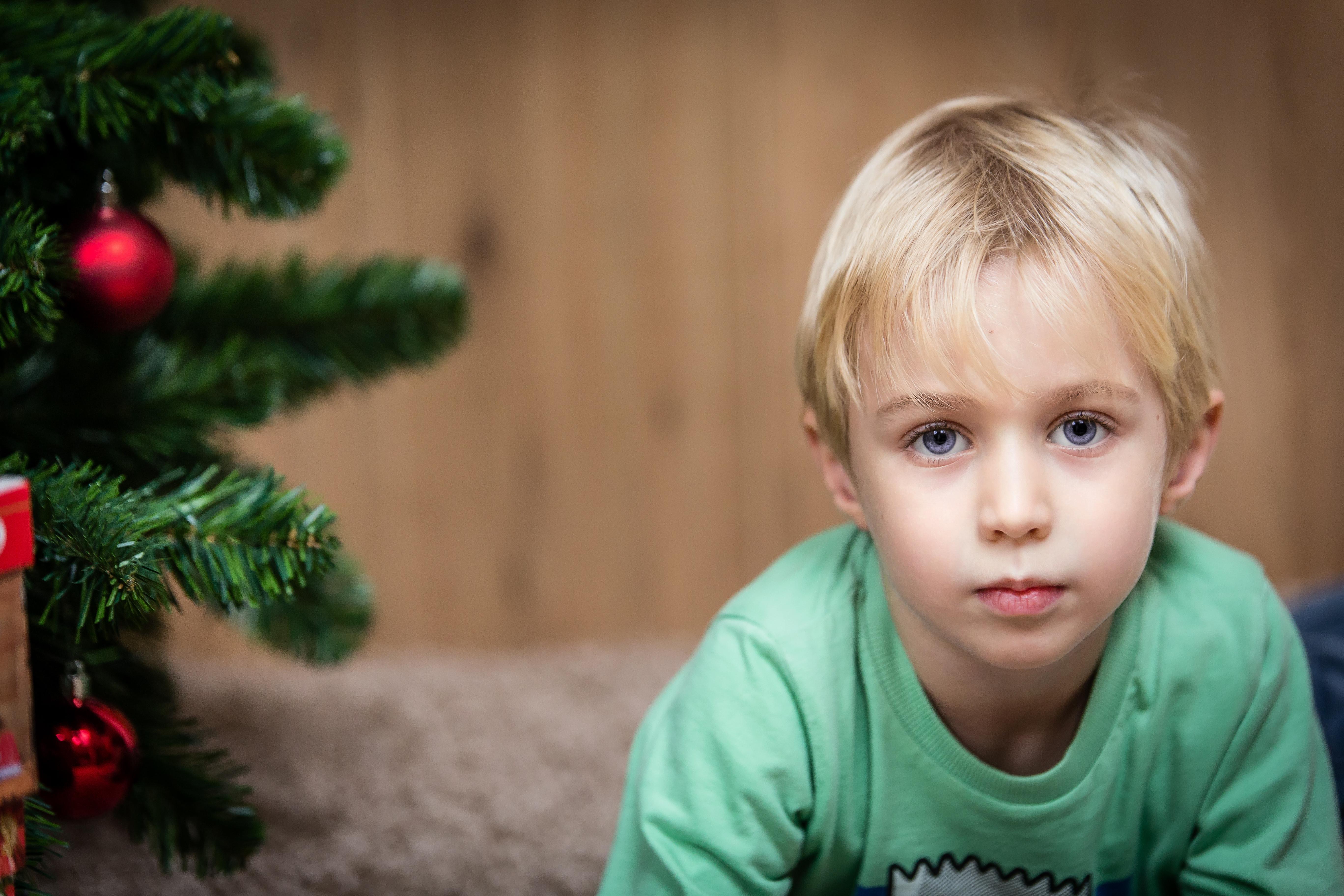 Sessione fotografica natalizia