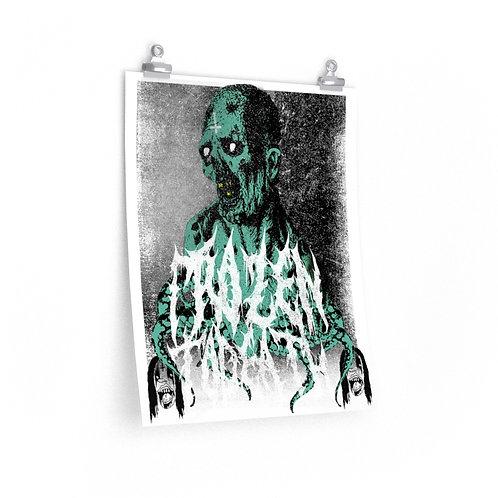 Frozen To Death Art Print