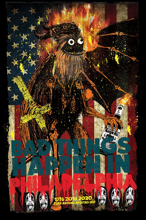 GRITTY SAVED AMERICA ART PRINT