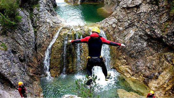 Canyoning im Allgaeu - Lechtal - Canyoni