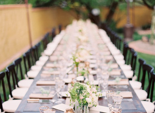 Unique Ceremony and Reception Seating