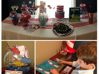 { On the Blog } Baby Shower Fun with Dr. Seuss!