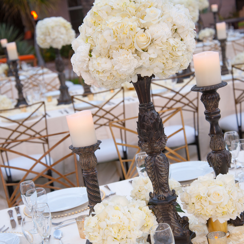 Formal Centerpieces with Sterling