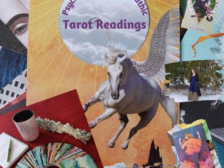 Now offering Tarot Readings