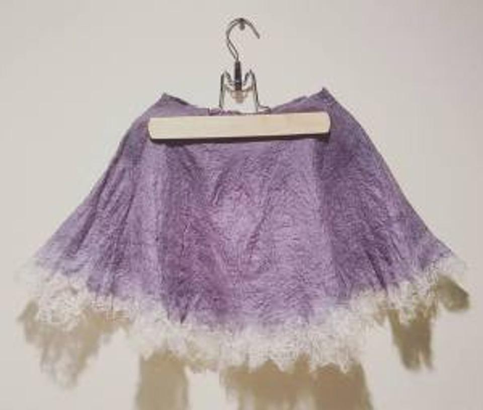 gray purple gradient skirt toddler
