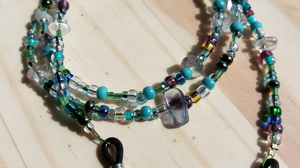 Johnny - jump - up Beaded Eyeglass Chain