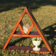 Triangle Shelf Medium Red