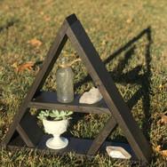 Triangle Shelf Medium Dark