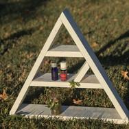 Triangle Shelf Medium White