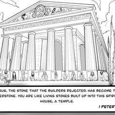 1 Peter 2:1-8 - Cornerstone