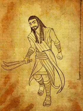 Samson Concept Art