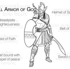 Armor of God Ephesus Coloring
