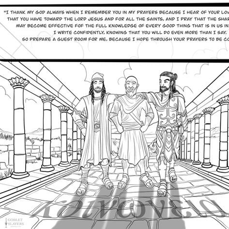 Philemon 17-25 - Κοινονεια