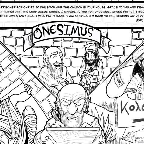Philemon 1-7 - Onesimus
