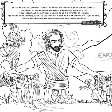 Ephesians 1:7-10 - Heaven & Earth
