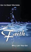 Anchor Baptist Church-Deep Waters Banner